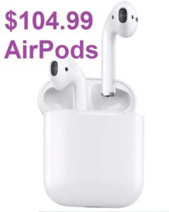 Apple AirPods - $104.99 after KC!