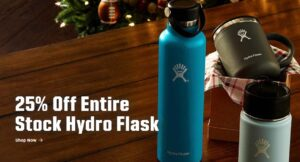 *FLASH SALE* Save 25% On Hydro Flask!