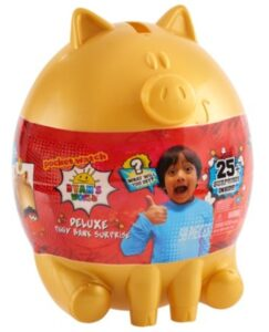 Ryan's World Deluxe Piggy Bank - ONLY $20!