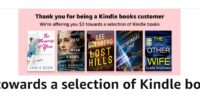 $3 To Spend On A Choice Kindle Book!