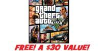 *CRAZY POPULAR OFFER* Score GTA V (Grand Theft Auto 5 Is A $30 Value)!