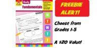 Score Evan-Moor Daily Fundamentals - A $20 Value!