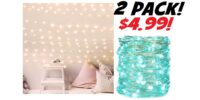 2 Pack LED Fairy Lights - As Low As $4.99!