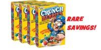 *SUPER RARE* Cap'N Crunch Crunchberries PROMO CODE!