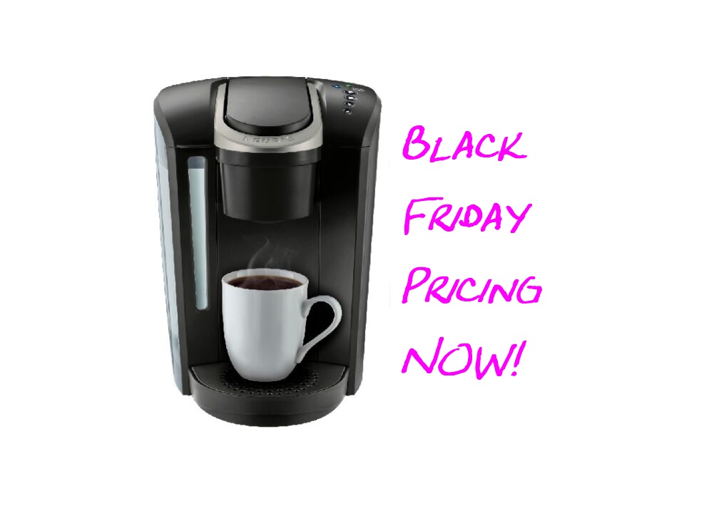 *BLACK FRIDAY PRICING NOW* On The Keurig K-Select Coffee ...