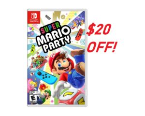Save $20 On Super Mario Party!