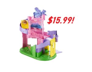 Fisher-Price Little People Disney Princess - ONLY $15.99! Wheelies Playset Doll