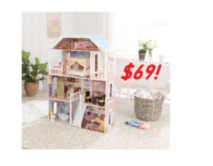 KidKraft Savannah Dollhouse with 14 Accessories - ONLY $69!