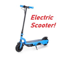 VIRO Rides VR 550E Rechargeable Electric Scooter - $71.06!