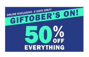 No Shipping + 50% Off Everything At Old Navy!