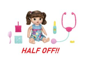 Baby Alive Sweet Tears Doll - HALF OFF!