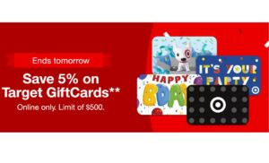Save On Target Gift Cards!