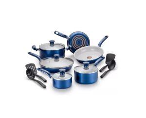 T-Fal Ceramic 14 Piece Cookware Set - 63% Off!