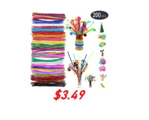 200 Piece Pipe Cleaners - HALF OFF!