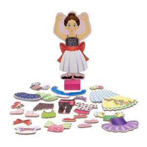 Melissa & Doug Nina Ballerina Magnetic Dress-Up Only $6.99!