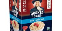 SAVE BIG ON Quaker Quick 1-Minute Oatmeal!
