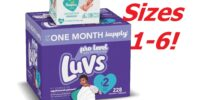LUVS Diapers & Pampers Wipes DEAL!