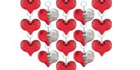 Flip Sequin Heart Keychains - HALF OFF!