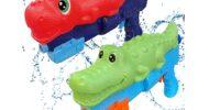 2 Pack Dinosaur & Crocodile Water Blasters - AWESOME PRICE!