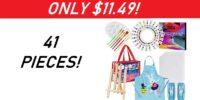 41 Piece Kids Art Set - 50% Off!