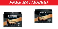 SCORE! Duracell Optimum Batteries - F.R.E.E (after rewards)!