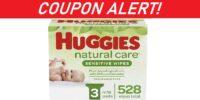 Huggies Natural Care Sensitive Baby Wipes - COUPON!
