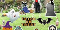 9 Piece Halloween Yard Stakes - 52% Off!